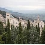 Assisi, vista dalla Rocca Maggiore