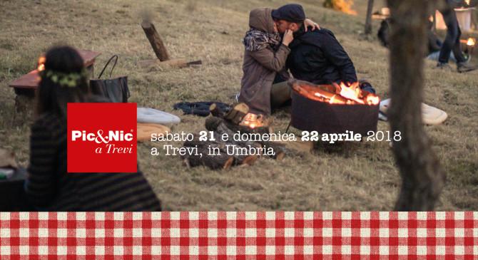 Pic&Nic tra gli ulivi – A Trevi (Umbria) il 21 e 22 aprile 2018